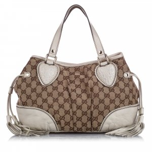 Gucci GG Canvas Tribeca Shoulder Bag