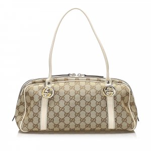 Gucci GG Canvas Twins Shoulder Bag