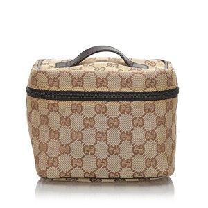 Gucci Borsa porta trucco beige