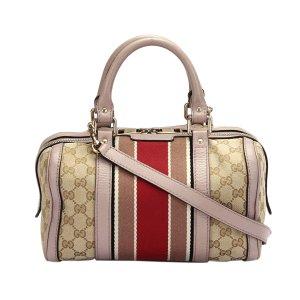 Gucci GG Canvas Web Joy Boston Bag