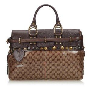 Gucci GG Crystal Babouska Handbag