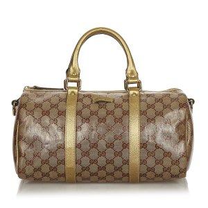 Gucci Handtas beige Chloorvezel