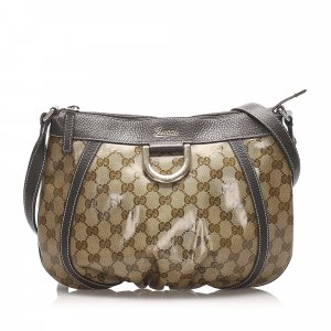 Gucci GG Crystal D-Ring Crossbody Bag