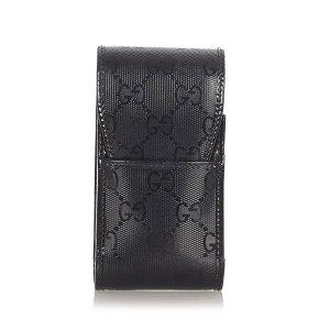 Gucci Minibolso negro clorofibras