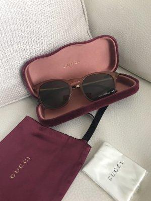 Gucci GG Italy org Sonnenbrille Sunglasses mit Samt Tasche Clutch Bag