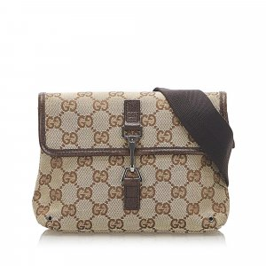 Gucci GG Jackie Canvas Belt Bag