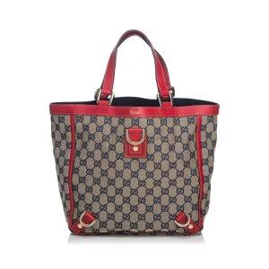 Gucci GG Jacquard Abbey Tote Bag