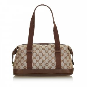Gucci GG Jacquard Boston Bag