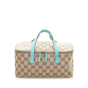 Gucci Neceser de belleza beige