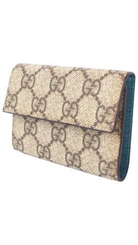 Gucci Porte-cartes beige-turquoise
