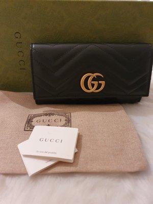Gucci GG Marmont Geldbörse schwarz