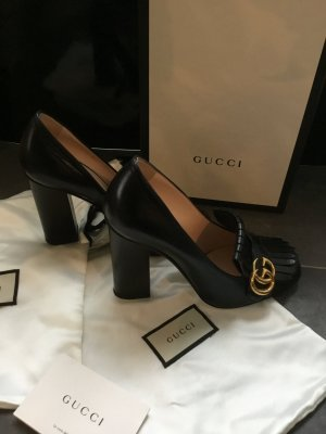 Gucci High Heels black leather
