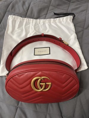 Gucci Bumbag red-gold-colored