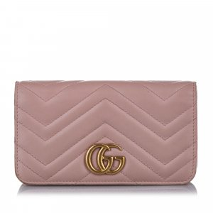 Gucci GG Marmont Leather Crossbody Bag