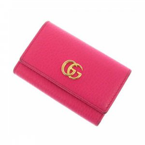 Gucci GG Marmont Leather Key Holder