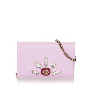 Gucci Portafogli rosa pallido Pelle