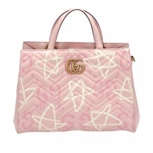 Gucci GG Marmont Matelasse Leather Satchel