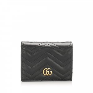 Gucci GG Marmont Matelasse Leather Small Wallet