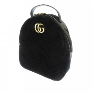 Gucci GG Marmont Matelasse Velour Backpack