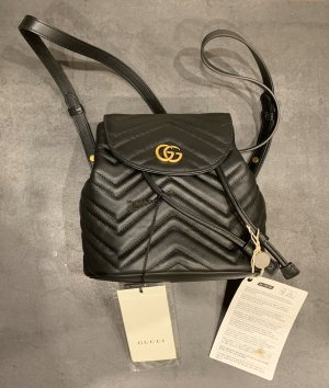 Gucci Sac porté épaule noir-doré