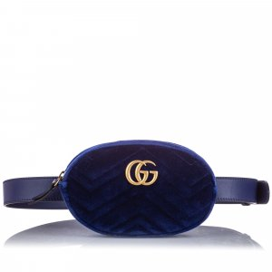 Gucci GG Marmont Velvet Belt Bag