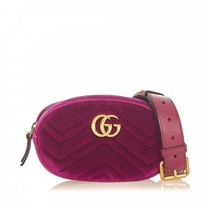 Gucci Bumbag purple synthetic fibre
