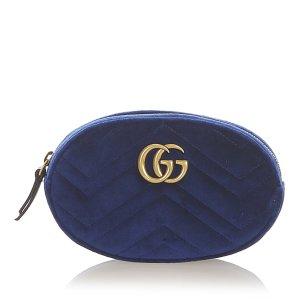 Gucci Bumbag blue synthetic fibre