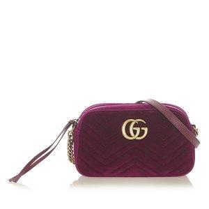 Gucci Crossbody bag purple synthetic fibre