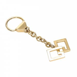 Gucci Key Chain gold-colored metal