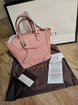 Gucci GG Monogram rosa Handtasche Schultertasche Leder, neu mit Etikett und Kassenzetel