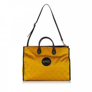 Gucci Sacoche jaune nylon