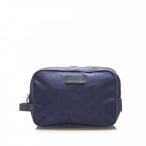 Gucci Buideltas blauw Nylon