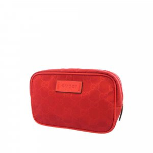 Gucci Pouch Bag red nylon