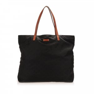 Gucci Borsa larga nero Nylon
