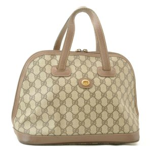 Gucci GG PVC Leather Hand Bag