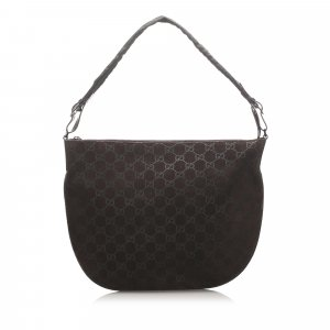 Gucci GG Suede Hobo Bag