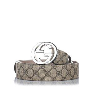 Gucci Cinturón beige