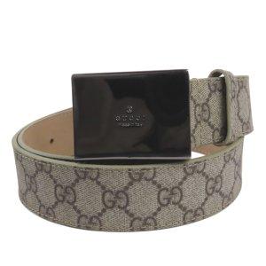 Gucci Belt beige polyvinyl chloride
