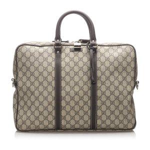 Gucci Bolso business beige