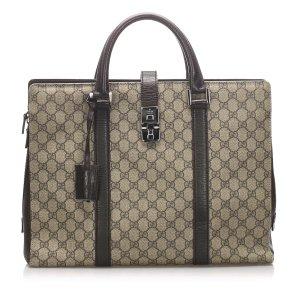Gucci GG Supreme Business Bag