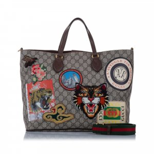 Gucci GG Supreme Courrier Soft Satchel