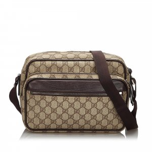 Gucci GG Supreme Crossbody Bag