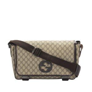 Gucci GG Supreme Crossbody Bag