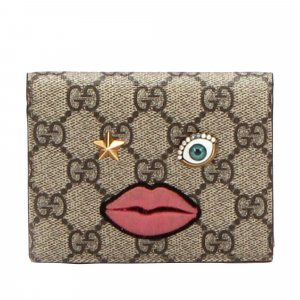 Gucci GG Supreme Face Bifold Wallet