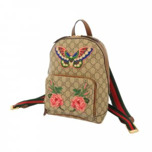 Gucci GG Supreme Garden Souvenir Backpack