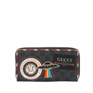 Gucci GG Supreme Night Courrier Long Wallet