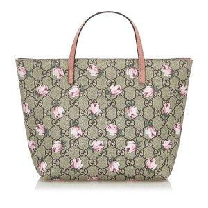 Gucci GG Supreme Rose Tote Bag