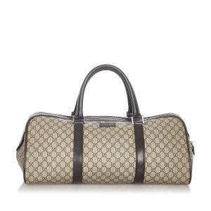 Gucci Borsa da viaggio beige