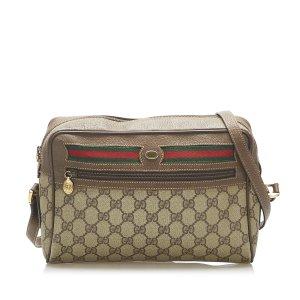 Gucci GG Supreme Web Crossbody Bag