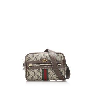Gucci GG Supreme Web Ophidia Belt Bag